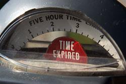 Parcomètre - Temps écoulé